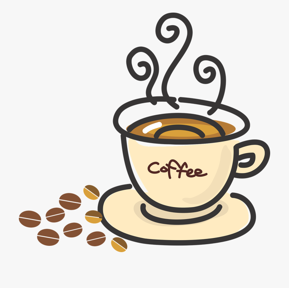 Coffee Clipart Spring.