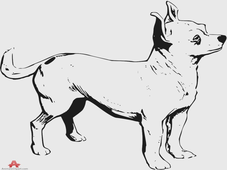 Chihuahua Clipart Black And White & Free Clip Art Images #10626.