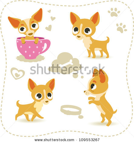 Chihuahua Puppy Stock Vectors, Images & Vector Art.