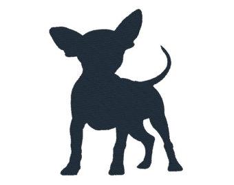 Chihuahua silhouette.