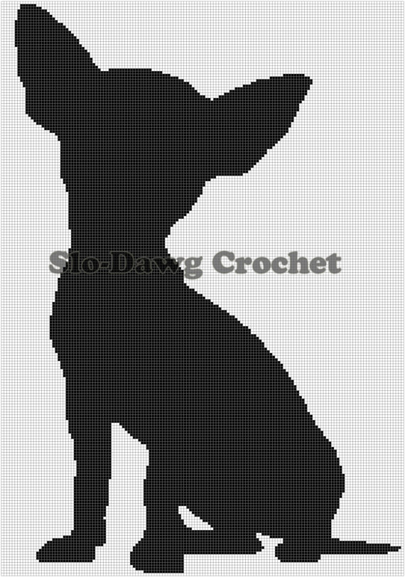 chihuahua silhouette clipart clipground free crochet clipart images free crochet clipart to edit