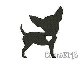 Items similar to CHIHUAHUA SILHOUETTE on Etsy.