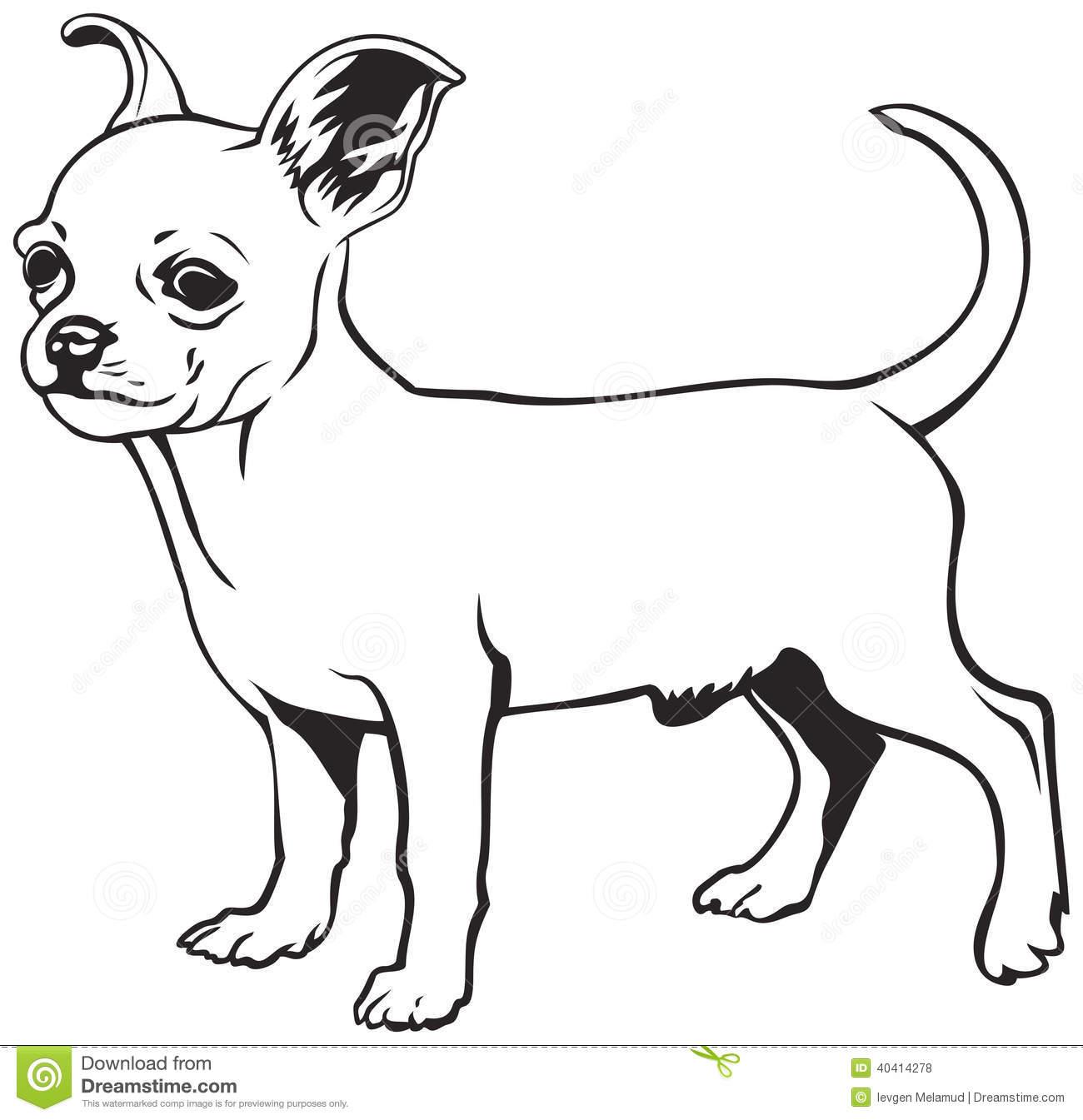 Chihuahua Clip Art.