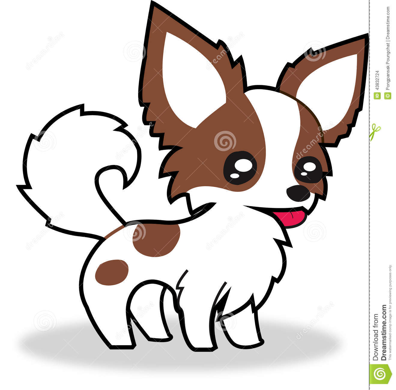 Cartoon Chihuahua Dog Clip Art Stock Photos, Images, & Pictures.
