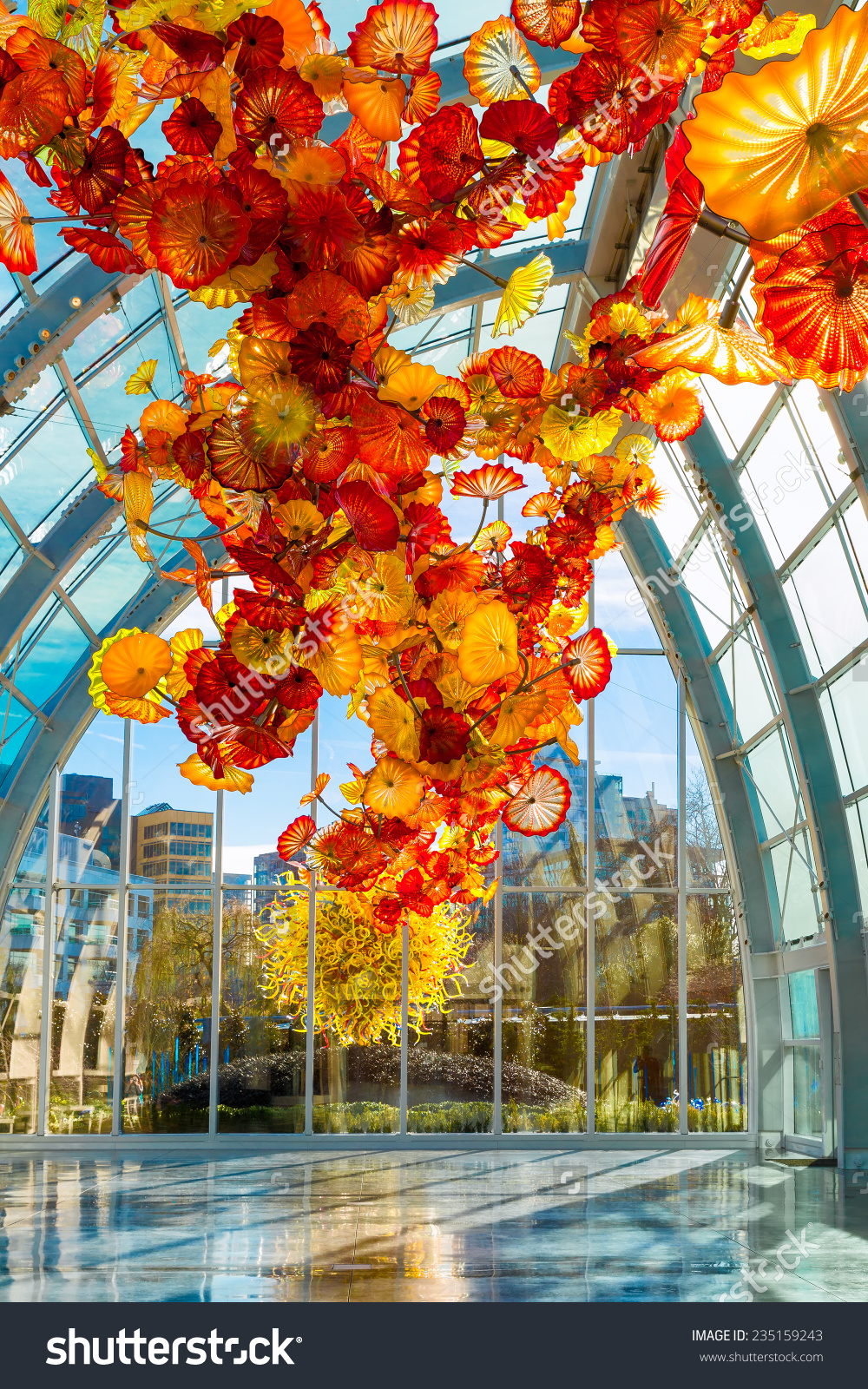 Seattledec 1 2014 Chihuly Garden Glass Stock Photo 235159243.