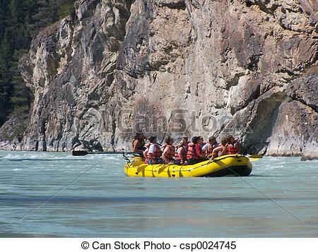 Stock Images of River Raft.