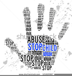 No Child Abuse Clipart.
