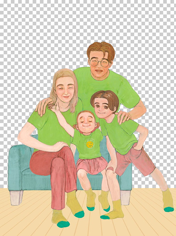 Child Parent Illustration, Children and parents PNG clipart.