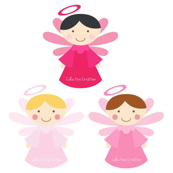 Free baby angel clip art.