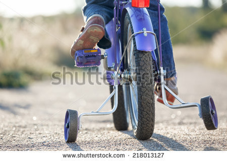 Kids Bicycle Stock Photos, Royalty.