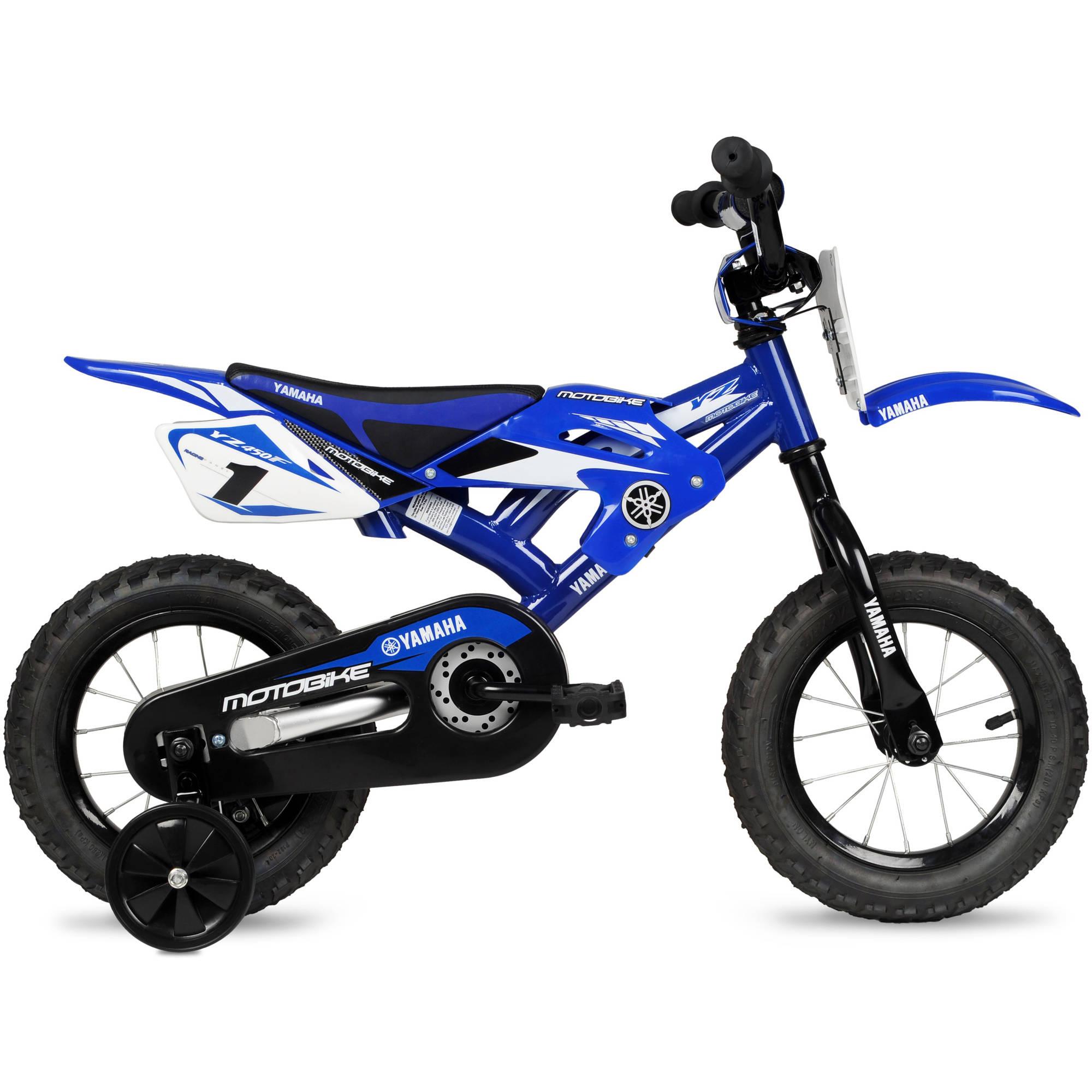 "12"" Yamaha Moto Child's BMX Bike."