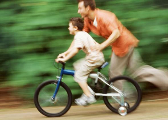 Training wheels don't work: Balance bikes teach children how to ride..