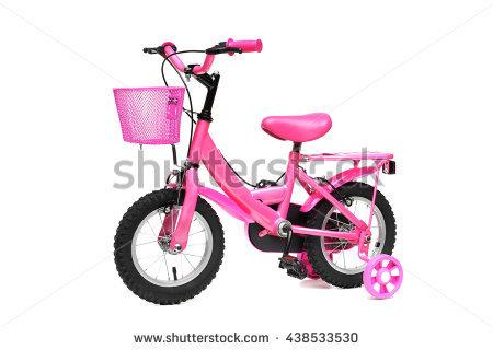 Kids Bike Stock Images, Royalty.