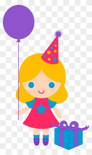 Free PNG Girls Birthday Clip Art Download.