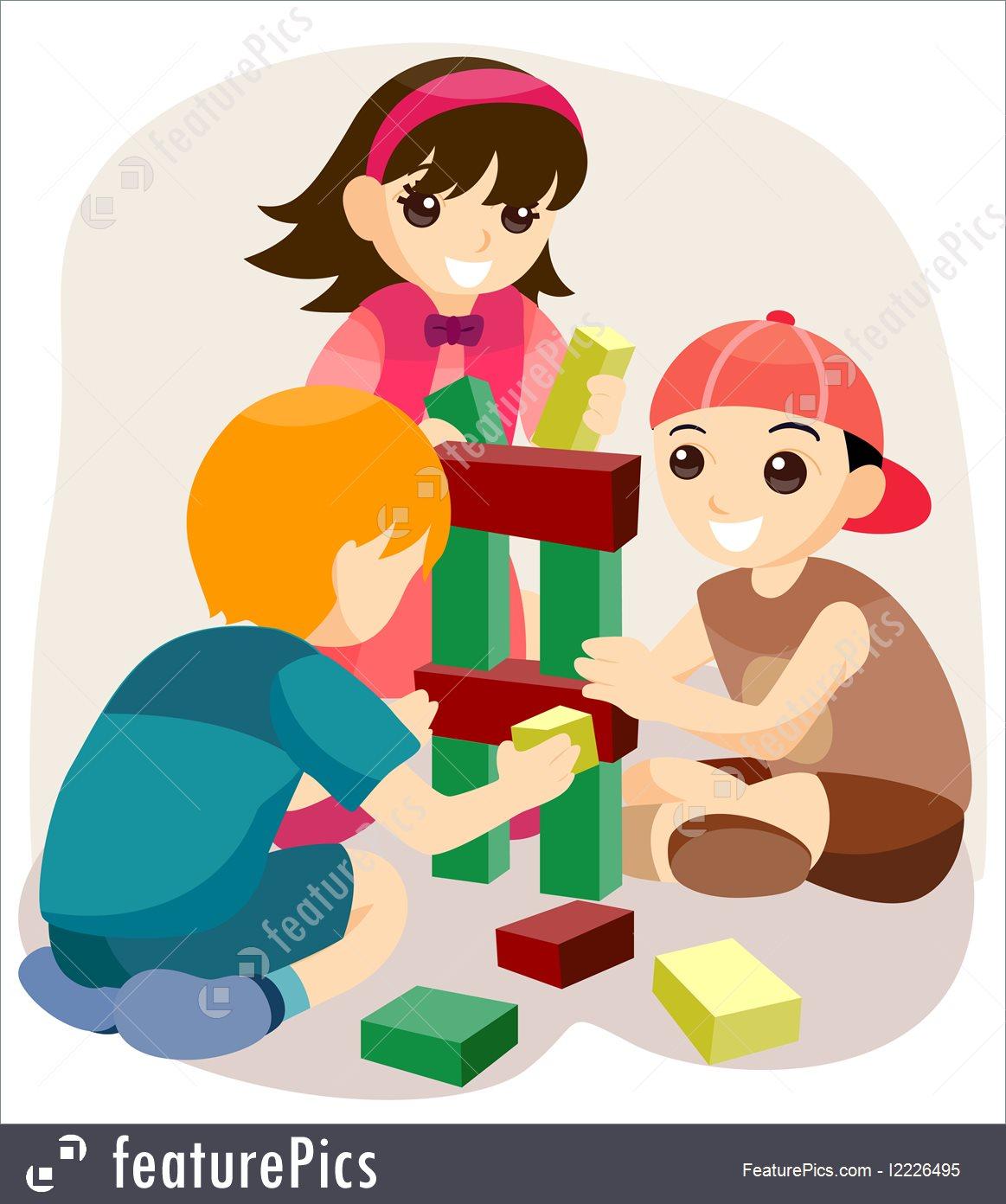 Toys And Souvenirs: Building Blocks.