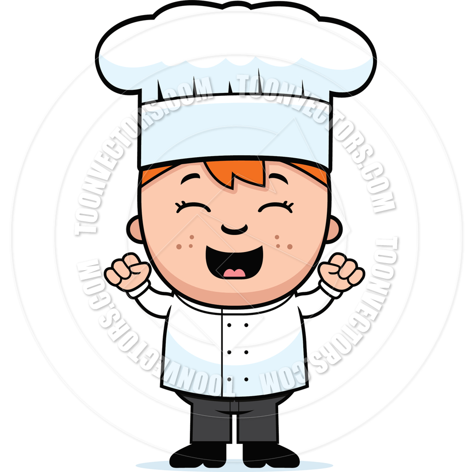 Kid Chef Clipart.