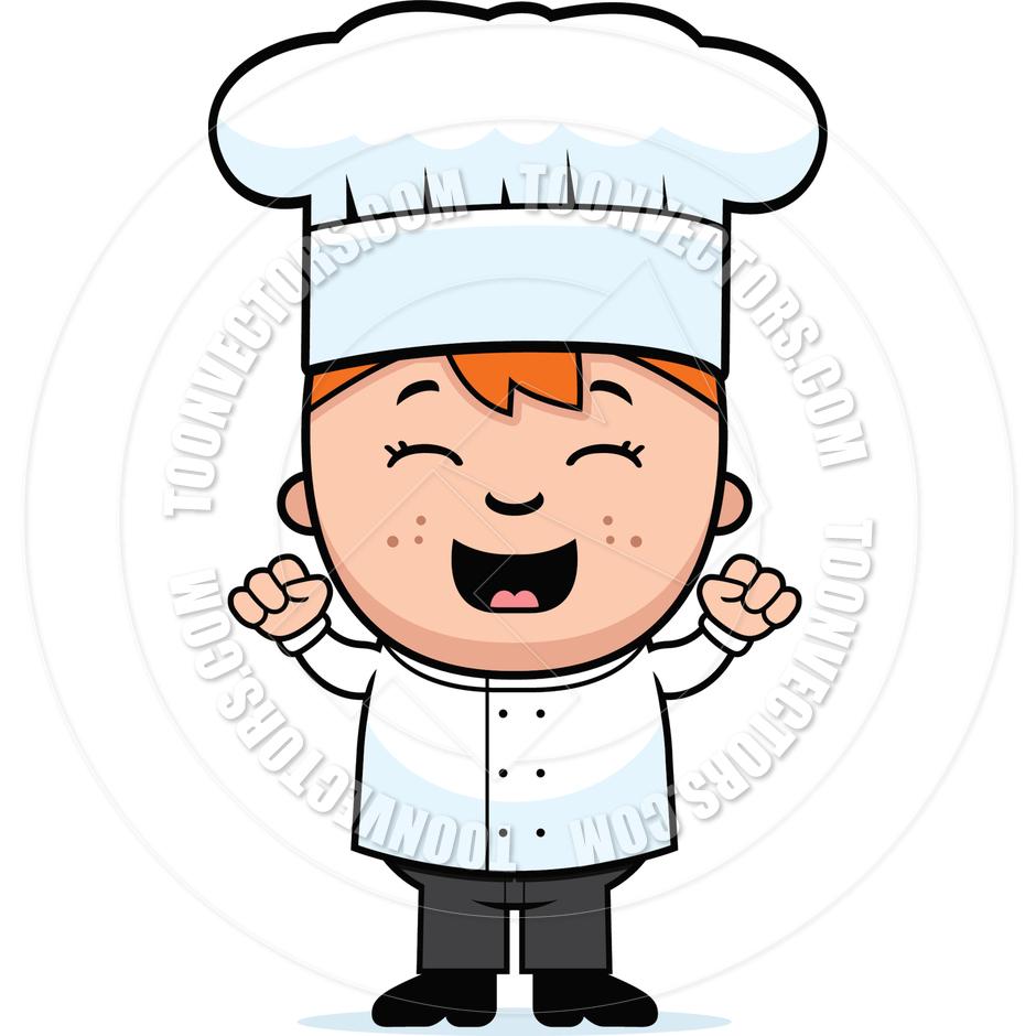 Kid Chef Clipart.
