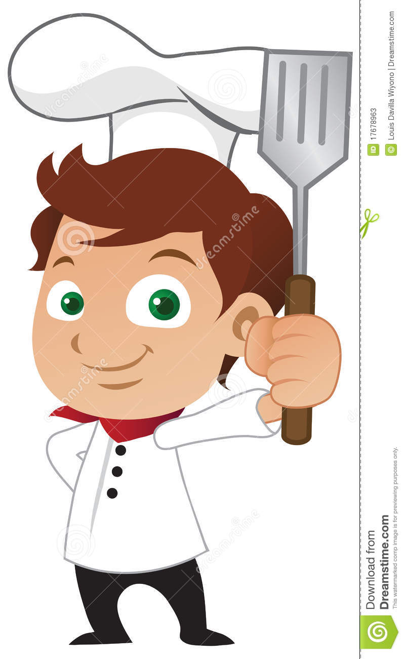 Chef Clipart Boy.