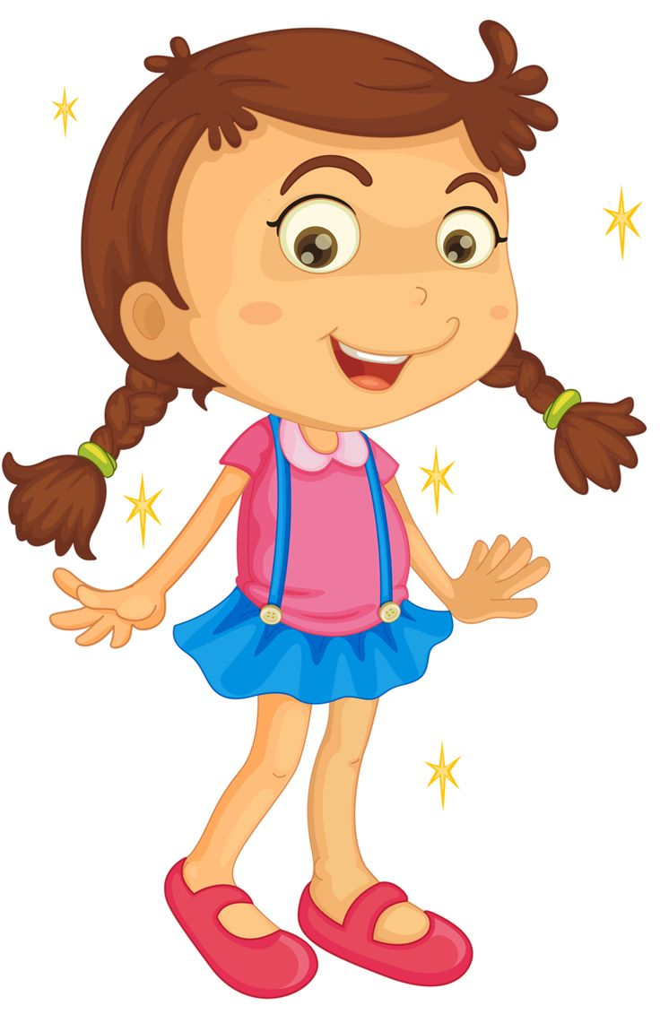 Cartoon Child Clipart.