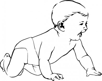 Baby Outline.