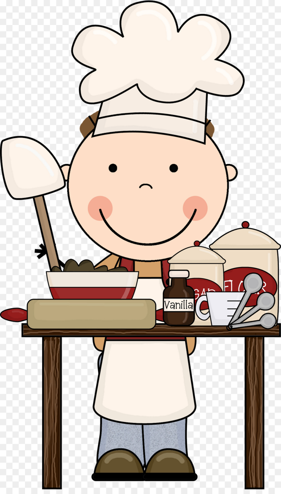 Chef Cartoon clipart.