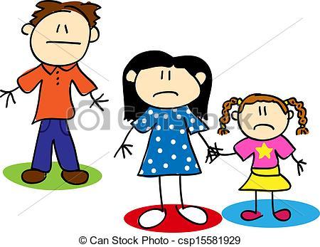 Child custody Vector Clipart Royalty Free. 61 Child custody clip.