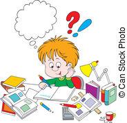 Homework Clipart and Stock Illustrations. 7,574 Homework vector.