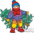 Winter Clip Art Image.