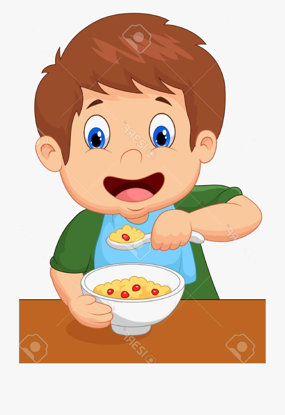 Eat Breakfast Clip Art.