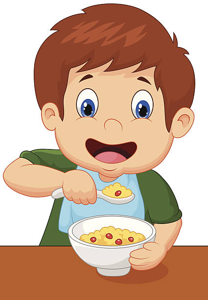 Child eating clipart 7 » Clipart Station.