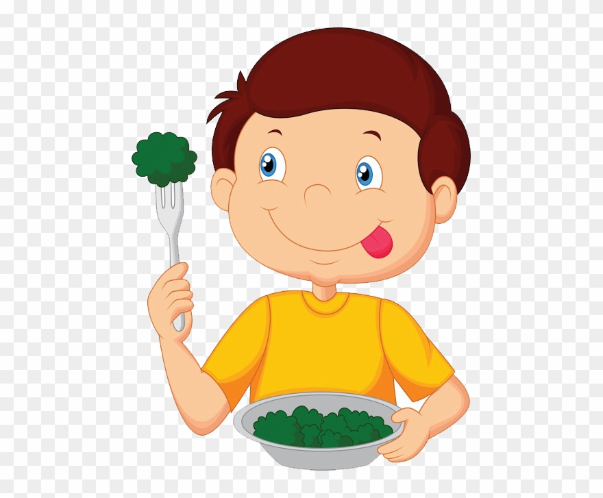 Eat Clipart Child Food.
