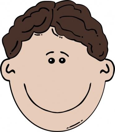 Child Face Clipart.