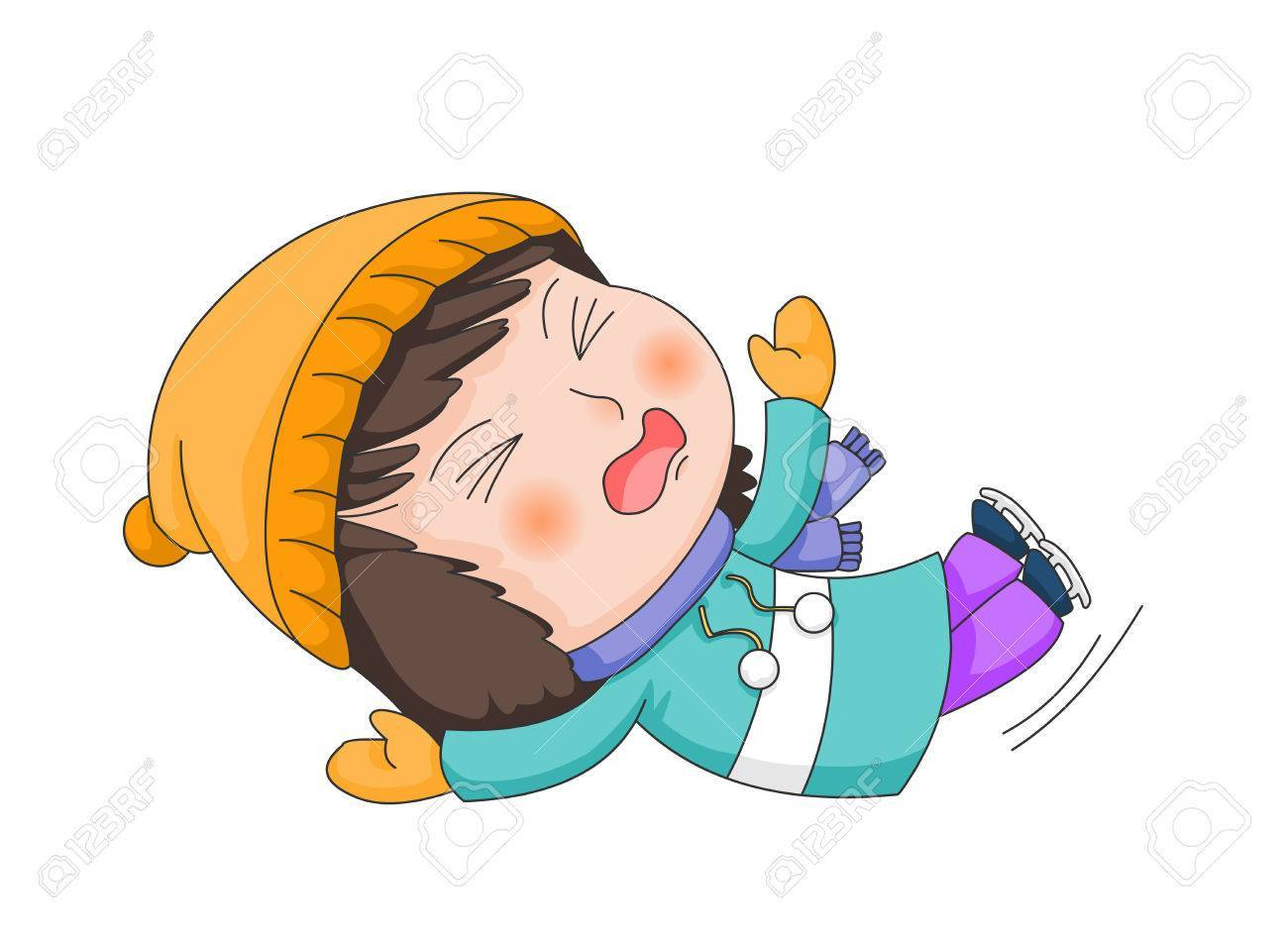 Child falling clipart 1 » Clipart Portal.