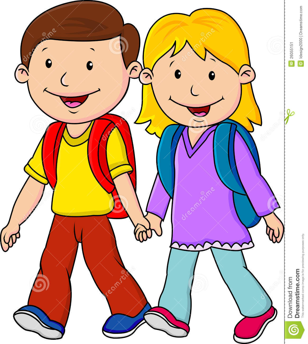 Child going to school clipart 10 » Clipart Station.