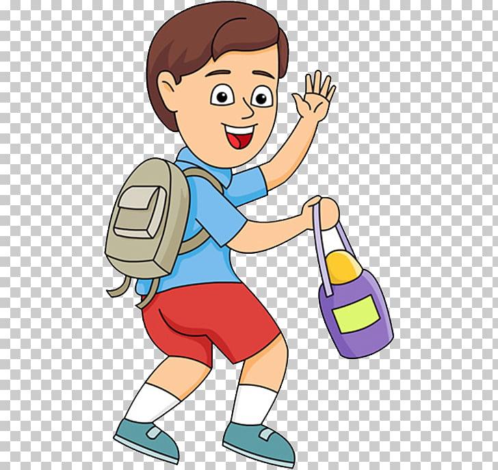 Child Free content , Cartoon children go to school PNG.