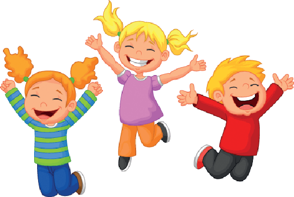 Children Happy Clipart.