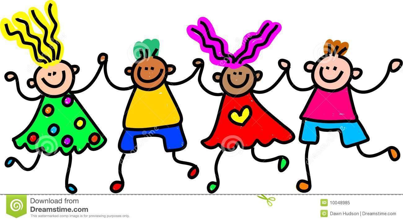 Happy Kids Clipart.