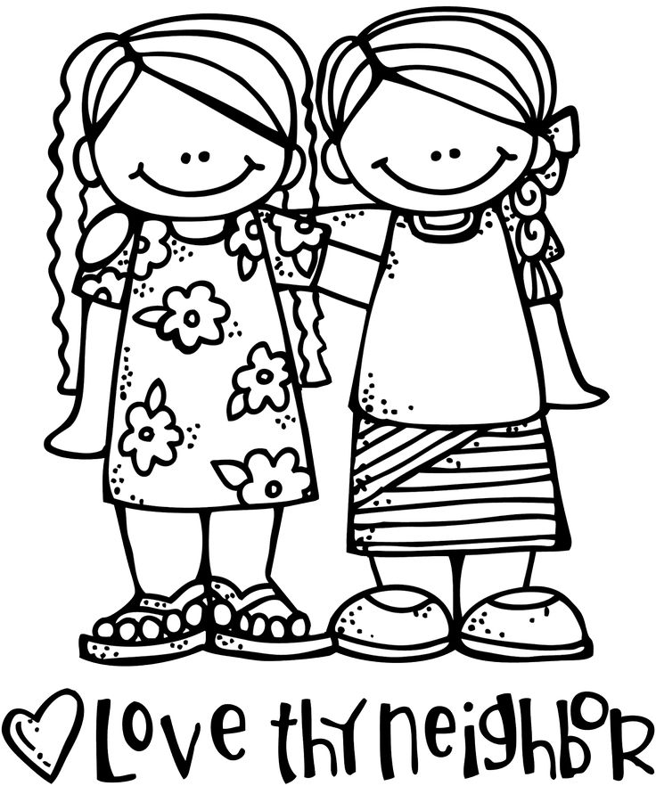 Child Head Boarer Clipart Black And White