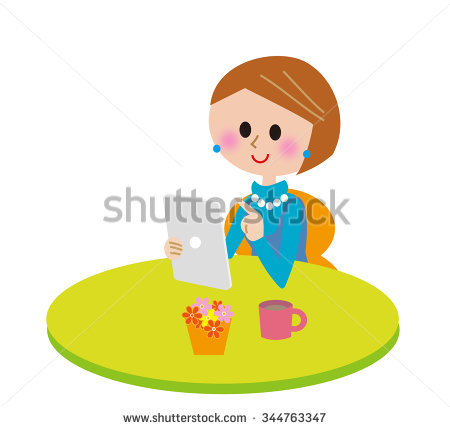 Mom Child Cooking Together Kitchen Vector Stock Vector 84718468.