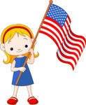Showing post & media for Cartoon american holding flag.