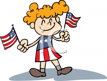 Showing post & media for Cartoon baby holding flag.