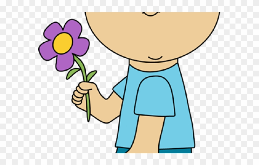 Flowers Clipart Child.
