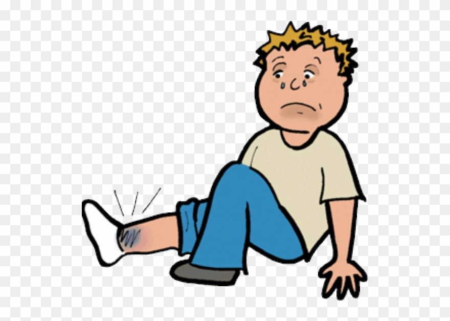 Injury Clipart Sprained Ankle.