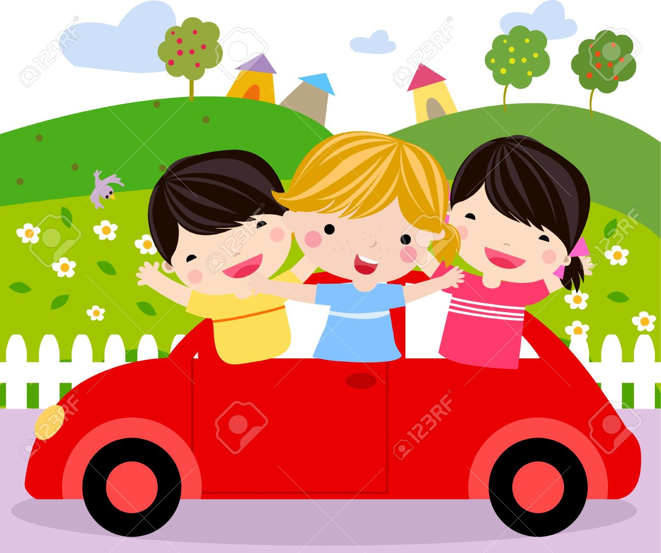 Clipart Of Child Like Car.