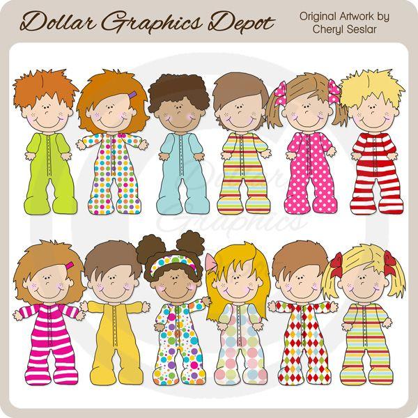 Pajama Kids.