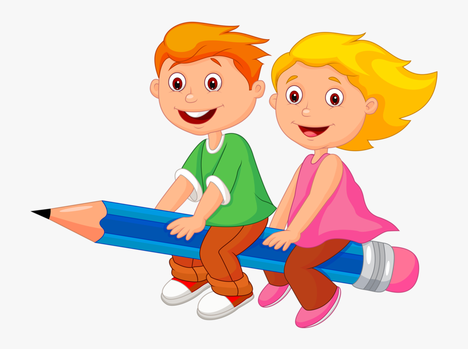 Kids Playing At School Clipart.