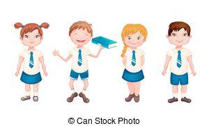 School uniform Illustrations and Clipart. 6,397 School uniform.