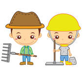 Free clip art child labor.