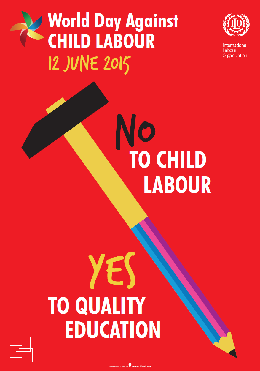 PARMIONOVA: World Day Against Child Labour 2015, June 12.