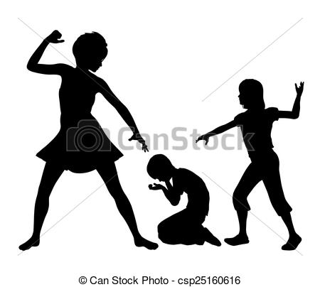 Clipart of Negative Role Model for Kids.
